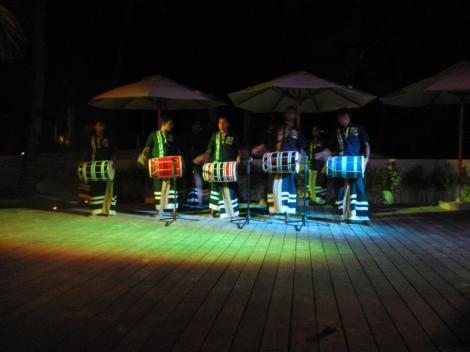 Maldivian night.