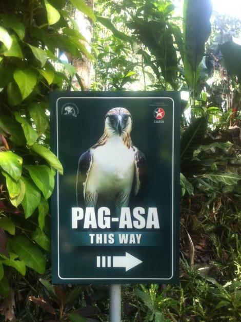 Pagasa was actually Pagasa Jr.