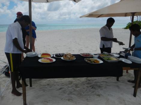 Deserted island picnic!