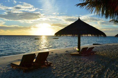 Sunrise in Paradise.