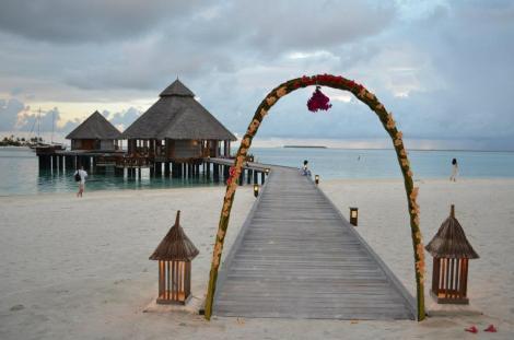A Wedding Ceremony arch. (I think.)