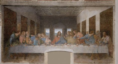 Leonardo Da Vinci's Last Supper.