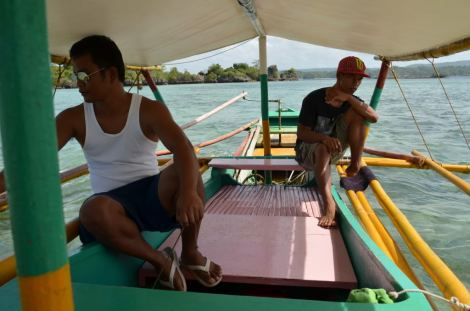 Our friendly boatmen. They're brothers.