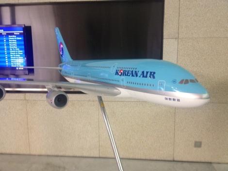 Model of KE A380