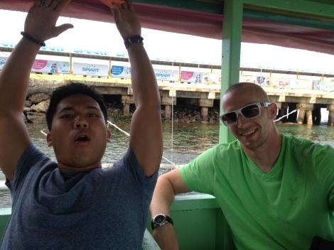 Boat to Boracay.