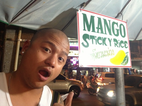 One of our faves, Mango Sticky Rice!