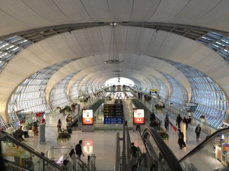 BKK Airport is Impressive.