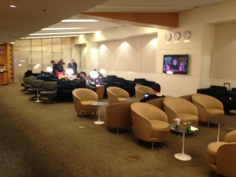 LAX Skyteam lounge.
