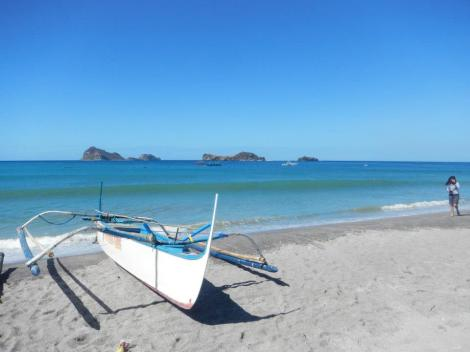 Last time I was here, I went to Anawangin Cove and Capones Islands with friends.