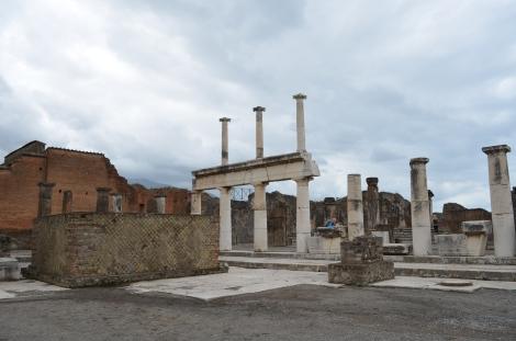 City Center of Ancient Pompeii.