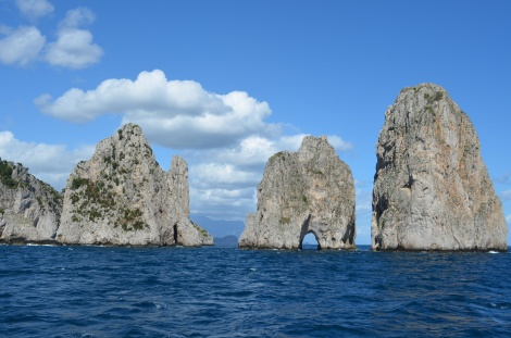 I forgot the famous story about these three rocks..