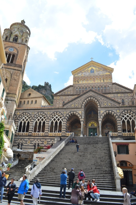Golden Cathedral in Positano.