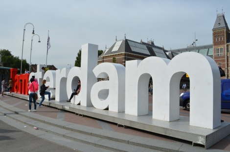 I am Amsterdam.