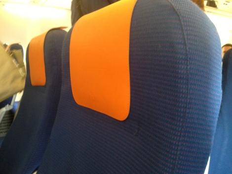 Economy Comfort Seats.