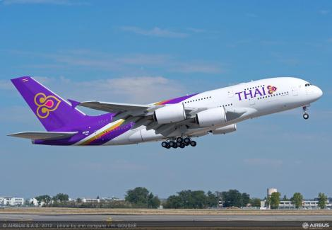 Thai's A380