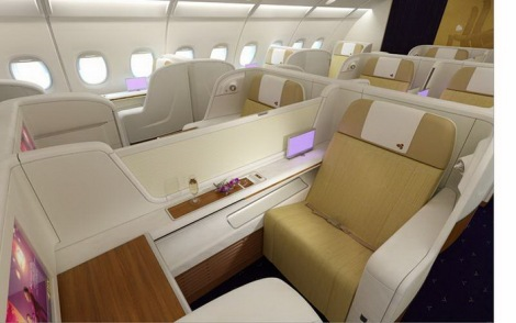 Thai Airways First Class Suite.