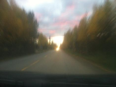 My drive home.
