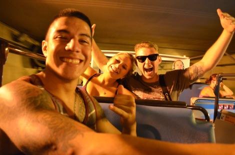 Tour-bus Pros.