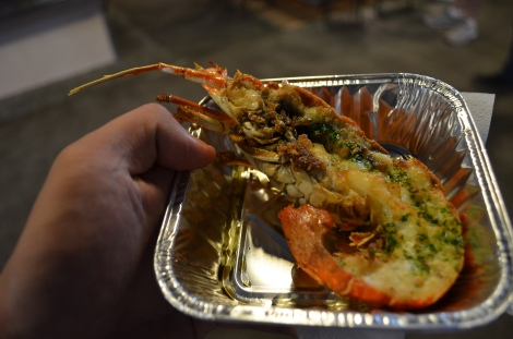 4 Euro lobster!