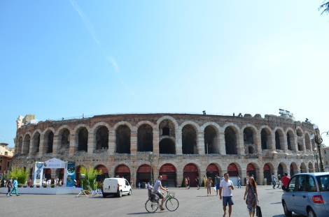 Not as big as the Coliseum in Roma but still impressive.