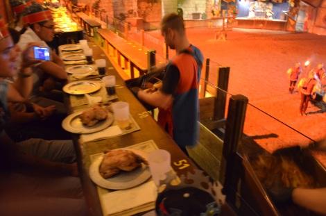 Medieval feast.