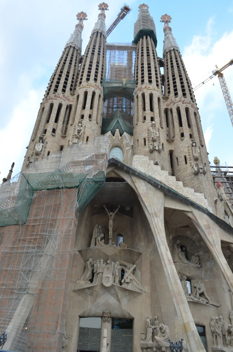 La Sagrada Familia - the construction never stops.