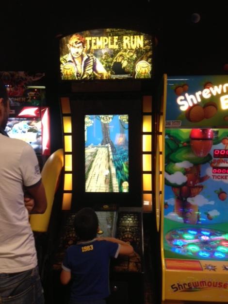 Temple Run arcade?!