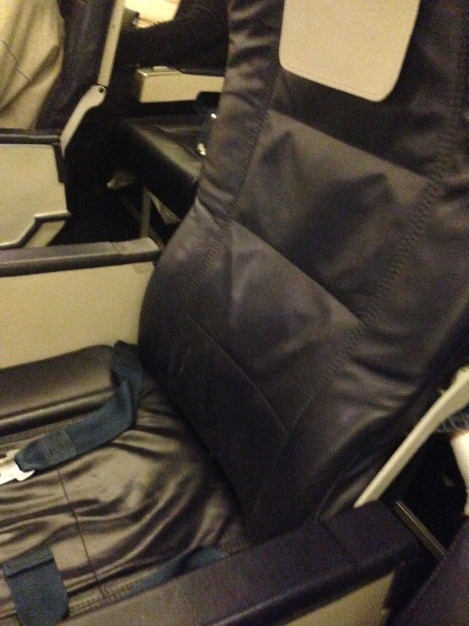 Euro Business Class: Coach with the middle seats blocked. :))