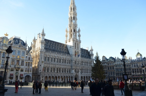 Grand Place during the day.
