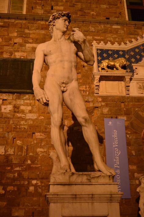 Replica of Statue of David.