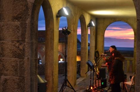 Sunset in San Marino.