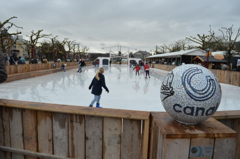 Ice-skating!