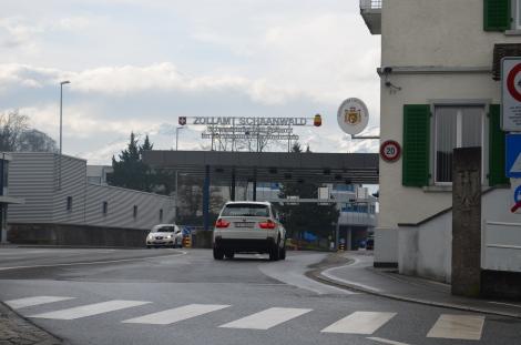 Lichtenstein border.
