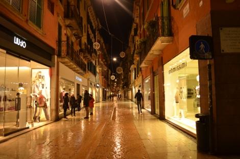 Verona has some great shopping.