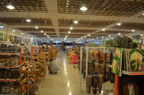 Huge souvenir shop!