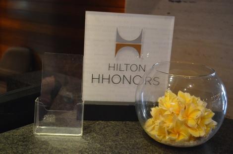HHonors desk.