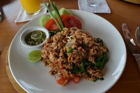 Our favorite Indonesian Dish, Nasi Goreng!