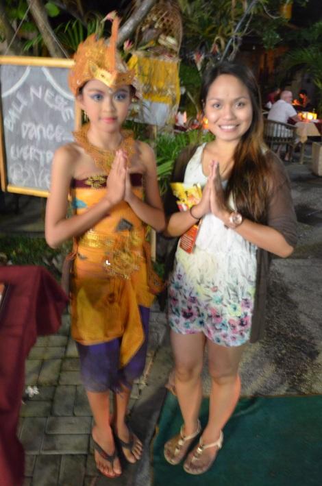 Balinese girls.