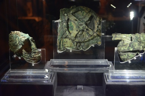 The mysterious Antikythera mechanism.