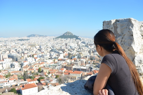 View of Athens.