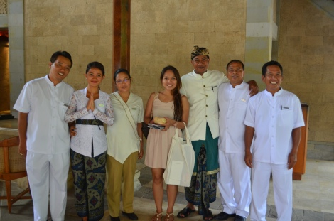 Amandari staff.