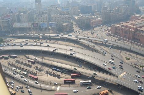 Cairo traffic.