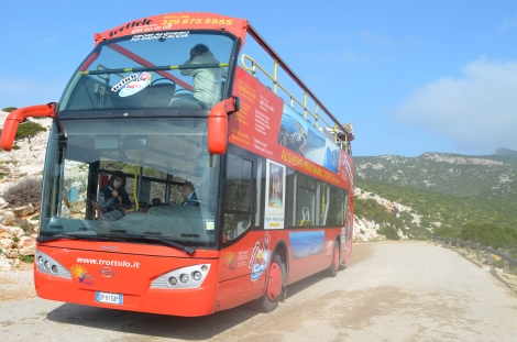Panoramic bus.