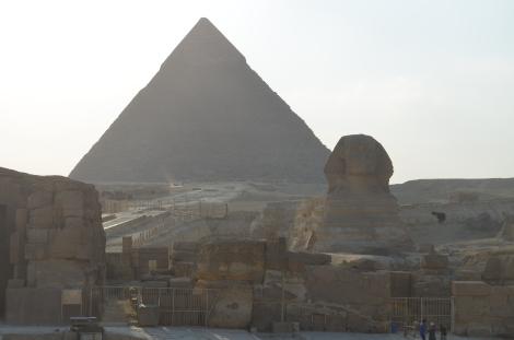 Pyramid & Sphinx.