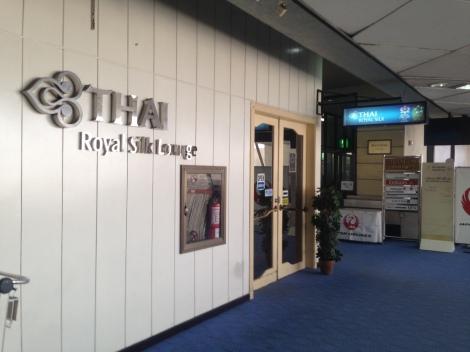 Thai Airways MNL lounge.