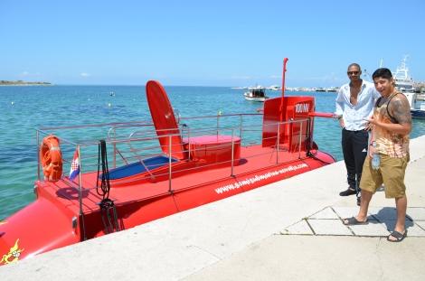 Submarine tour.