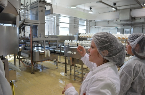 Tour of the factory.