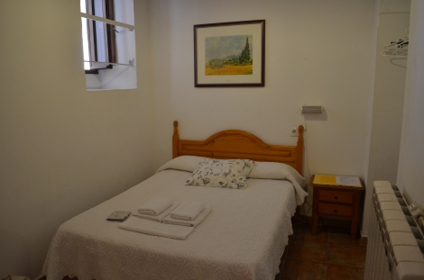Our room in Pension Correo.