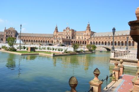 Plaza de Espana.