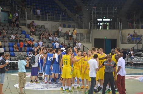 Day 2 of the games, Pilipinas vs. Australia.